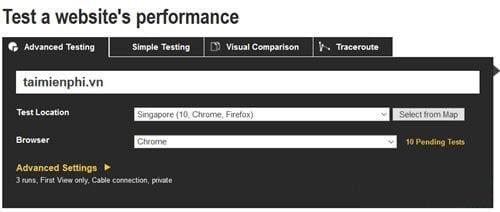 Cách để kiểm tra tốc độ website chính xác