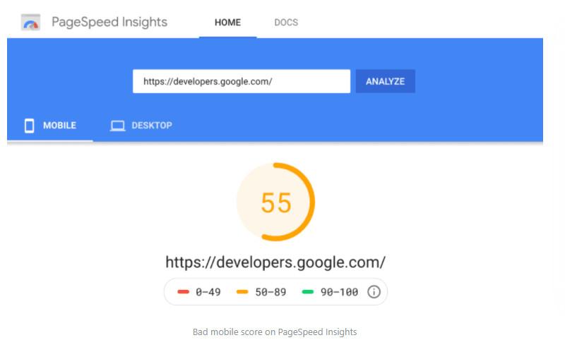 Ngừng ám ảnh về điểm số PageSpeed